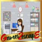 G2E Woman Escape From Office